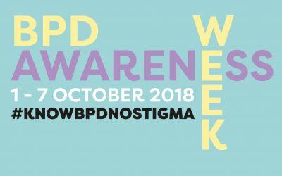 BPD Awareness Week 2018