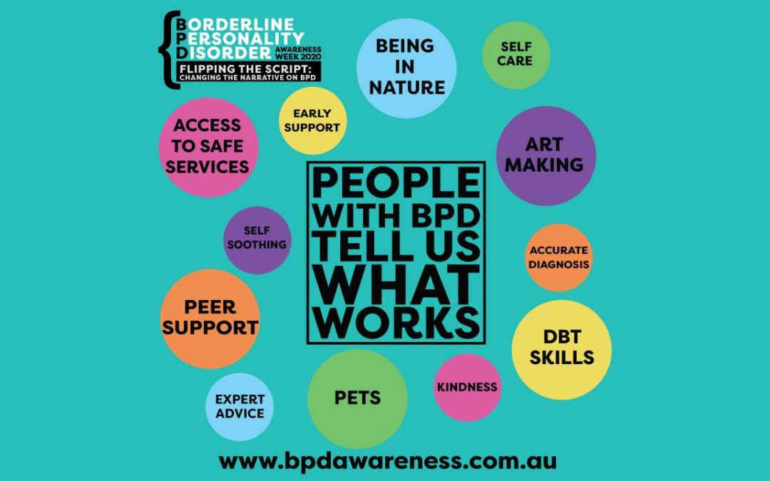SA activities for BPD Awareness Week 2020