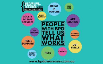 SA activities for BPD Awareness Week 2020