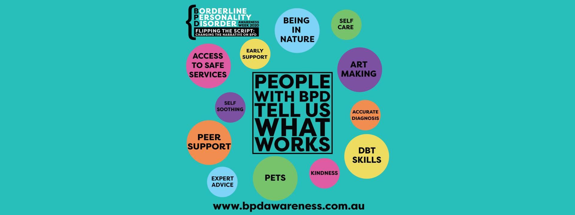 BPD Awareness Week - What Works